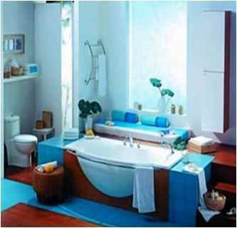 Bathroom Color Ideas Blue And Brown