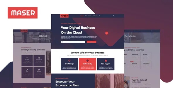 Best Web Design Agency Template Kit