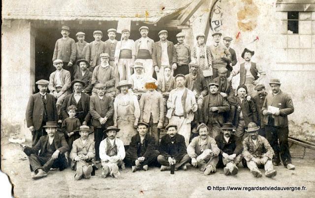 Photo de groupe ancienne