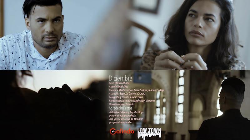 Efrain Galindo - ¨Diciembre¨ - Videoclip - Director: Efrain Galindo. Portal Del Vídeo Clip Cubano