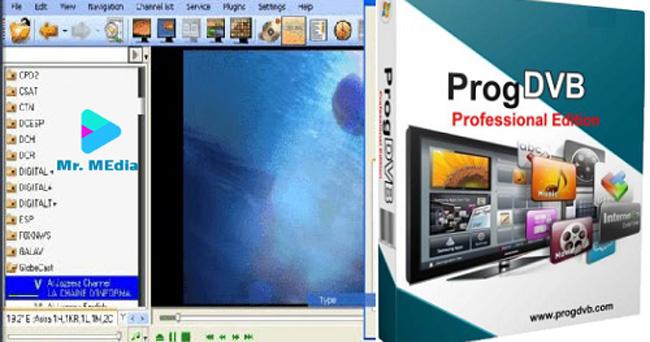 تحميل برنامج  ProgDVB  TV لـ تشغيل و مشاهدة القنوات الفضائية علي الكمبيوتر و القنوات المشفرة مجانا