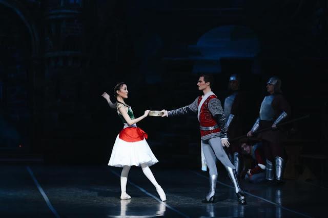 """Самарский театр оперы и балета, """"Эсмеральда"""" - Марина Накадзима и Сергей Гаген"""