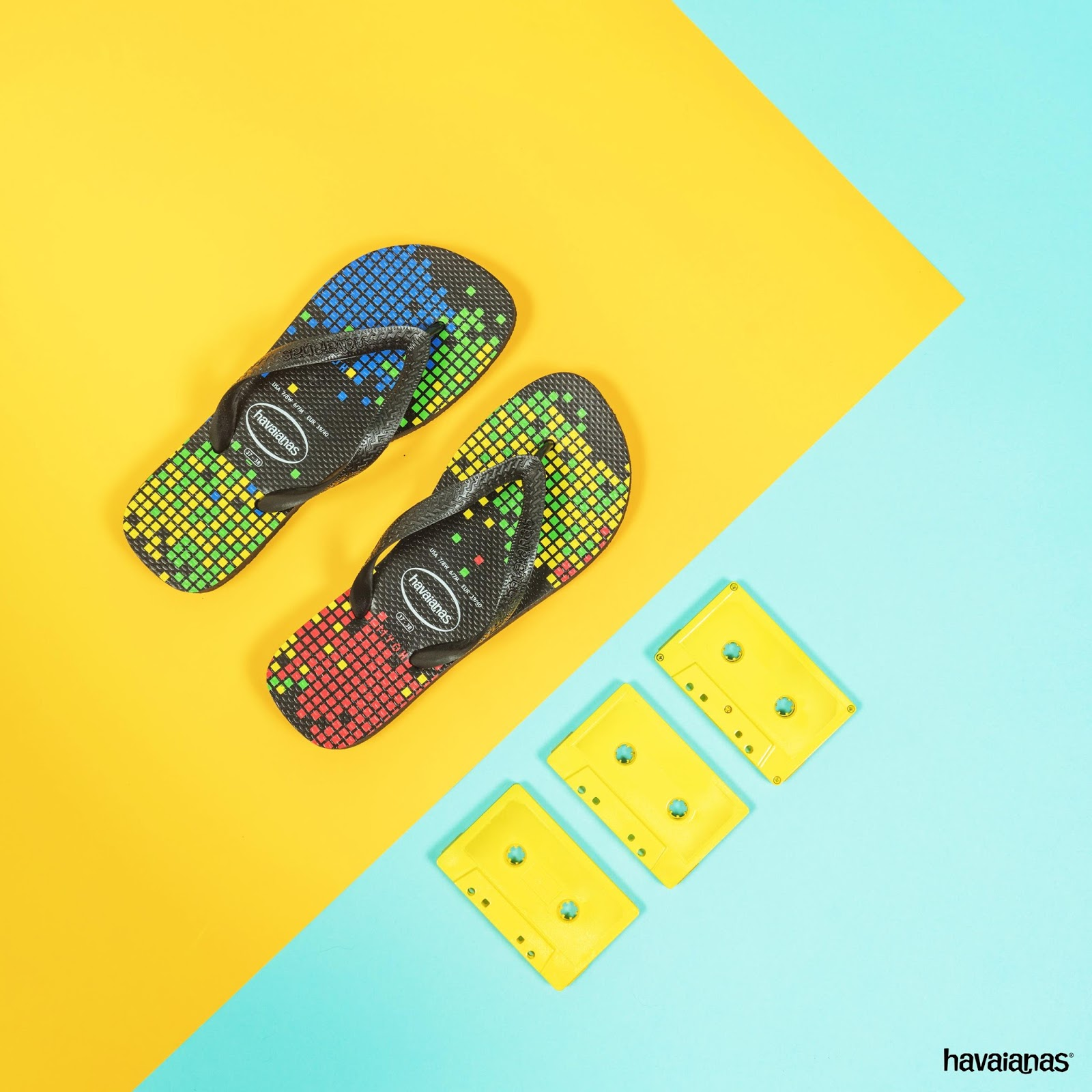 87ce334fc Make your way to MYOH this year and get this cool commemorative pair  inspired by the 8-bit pixels game of the  90s!