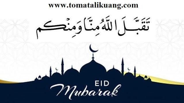 Jawaban taqabbalallahu minna wa minkum idul fitri tomatalikuang.com