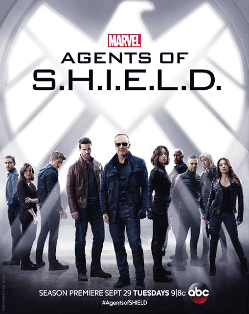 Poster Sezonul 3 Agents Of SHIELD