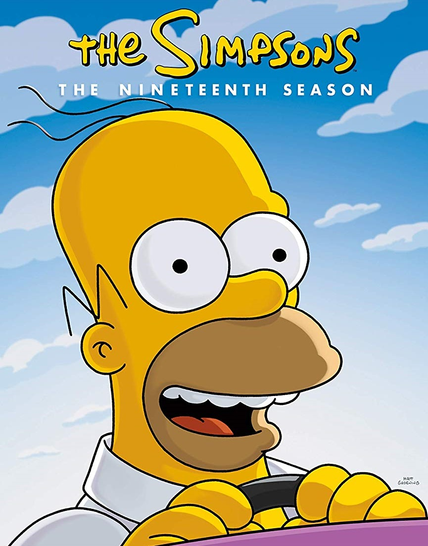 Los Simpsons [Season 19] [2007] [DVD9] [NTSC] [Latino] [4DISC]