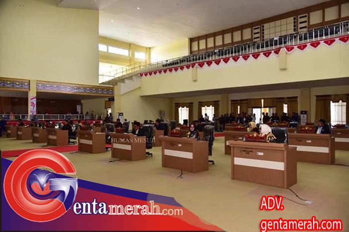 Elfianah Khamami Jabat Ketua DPRD Mesuji Masa Bakti 2019-2024