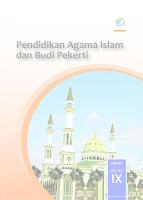 Buku PAI & BP kELAS IX REVISI 2018