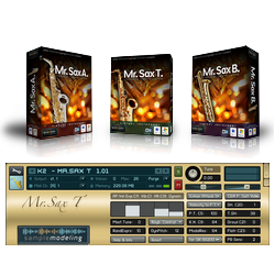 Sample Modeling The Sax Brothers v1.51 KONTAKT Library