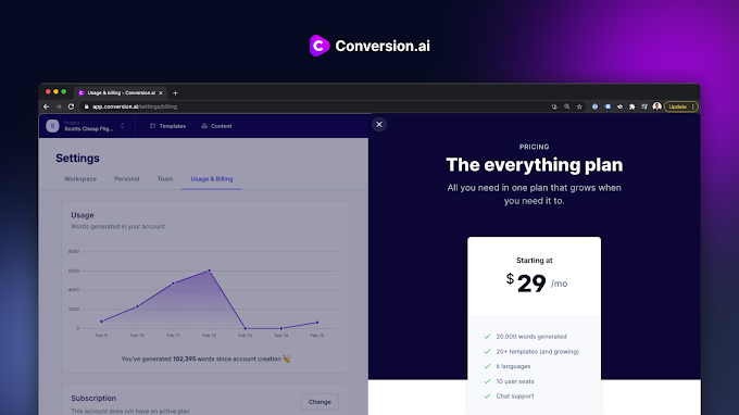 Quality Articles Made Easy with Conversion .AI.