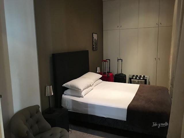L'Hôtel Particulier dormitorio