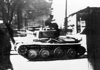 GERMAN TANK USED AGAINST WARSAW GHETTO UPRISING
