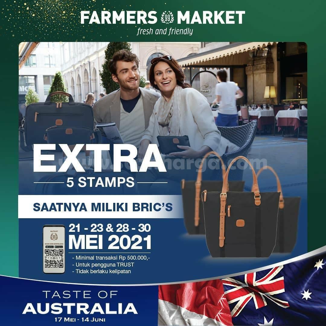 Promo FARMER MARKET STAMP! Tebus Murah Produk BRIC's