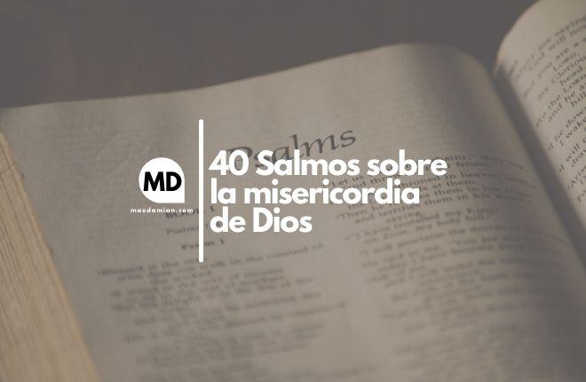 Salmos sobre la misericordia de Dios