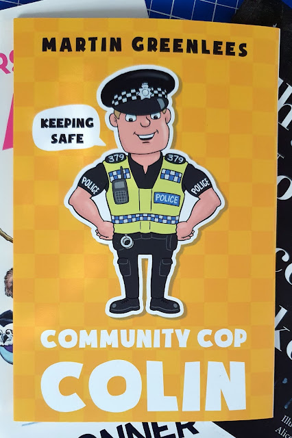 Community Cop Colin by Martin Greenlees childrens book review