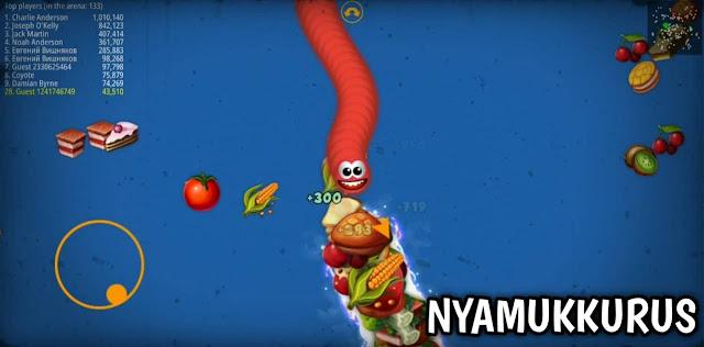 Worms Zone io Mod Apk Terbaru