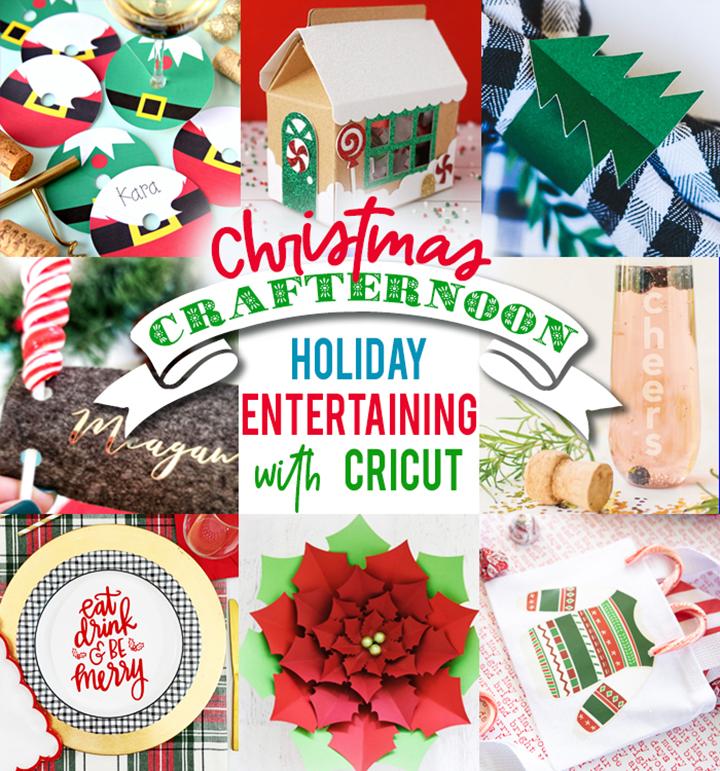 8 Cricut Christmas Entertaining Ideas