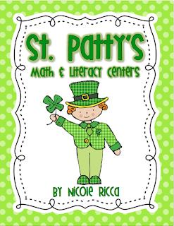 St. Patty's Centers & FREEBIE!