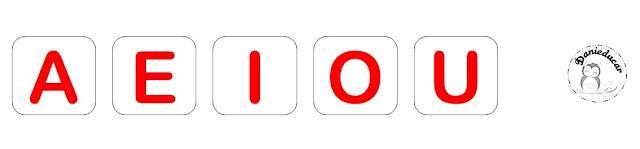 Desta vez trago para vocês uma sugestão de jogo das vogais para trabalhar nas séries inicias de formas lúdica.