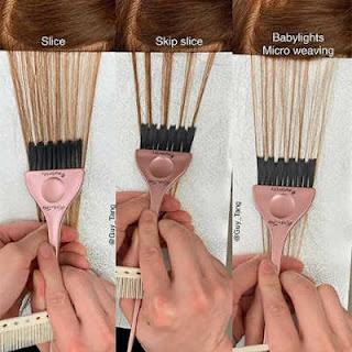 teknik pewarnaan rambut