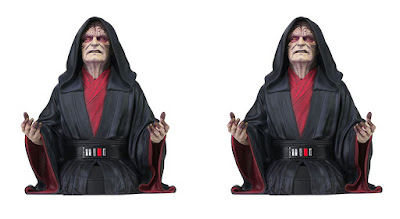 Star Wars: Rise of Skywalker Emperor Palpatine Mini Bust by Diamond Select Toys