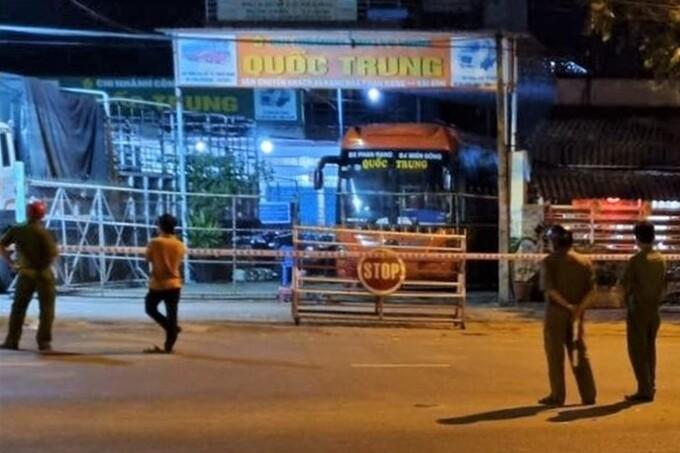 Nhà xe ở Phan Rang bị nghi làm lây lan Covid-19