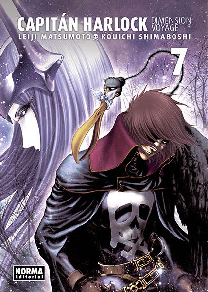 Reseña de Capitán Harlock: Dimension Voyage vol. 7, de Leiji Matsumoto y Kouichi Shimaboshi - Norma Editorial