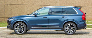 Review of Volvo XC90 2019: Side Exterior