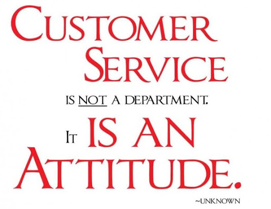 Let's talk about customer service.
