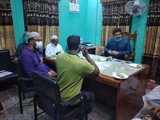ইসলামিক ফাউন্ডেশন এর ঝিনাইদহ জেলা কার্যালয় পরিদর্শন করেন - জেলা প্রশাসক