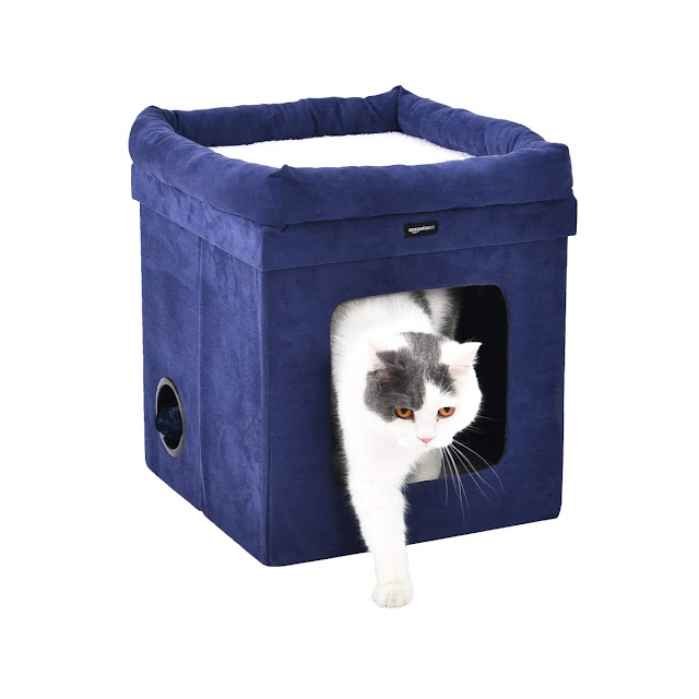 AmazonBasics Collapsible Cat House