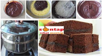 Resep dan cara membuat brownies kukus coklat amanda