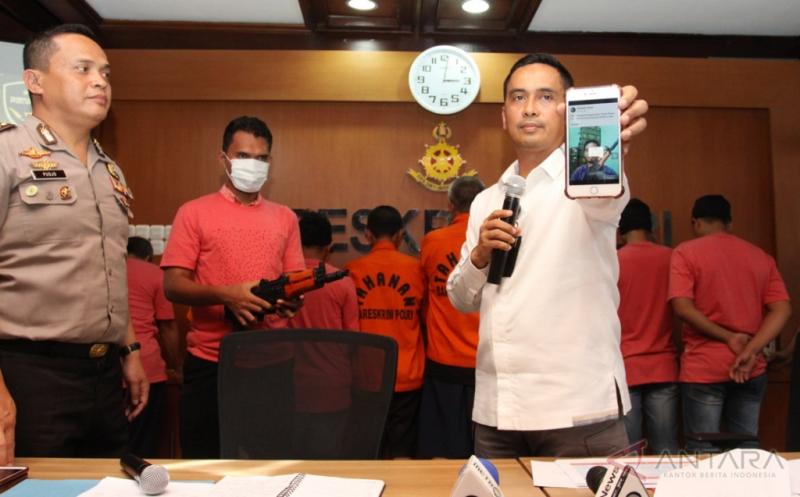 Polisi tangkap MCA