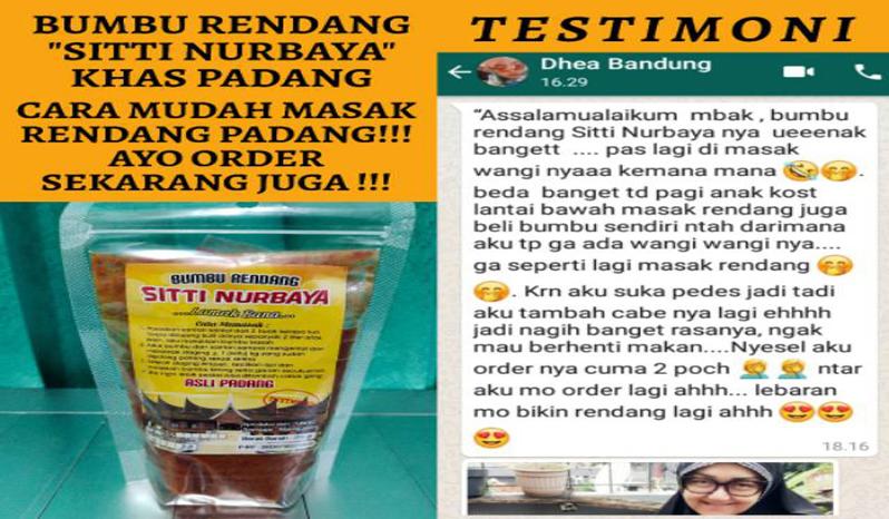 Bumbu Rendang Siti Nurbaya