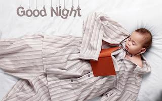 cute good night sweet dream baby Wallpaper