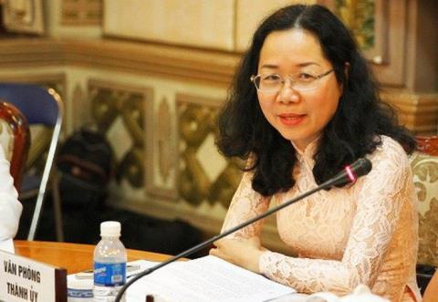 Bà Thái Thị Bích Liên được điều động sang nhiệm vụ mới