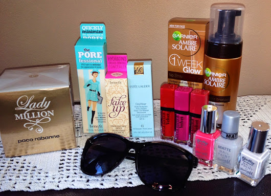 Collective Beauty Haul - June 2014
