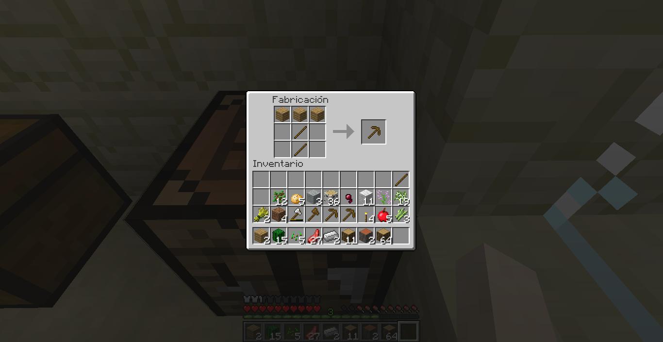 Empezar De 0 En Minecraft 1 8 1 Cultivos Y Algunos Crafteos