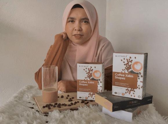 Minum Kitsui Coffee Xslim Shapez  Untuk kurus