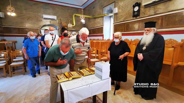 Στο ορεινό Πλατάνι ο Μητροπολίτης Αργολίδας τέλεσε την Ιερά παράκληση στην Παναγία (βίντεο)