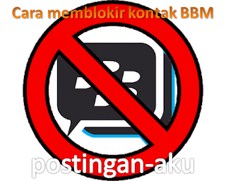 Cara memblokir kontak BBM pada Blackberry