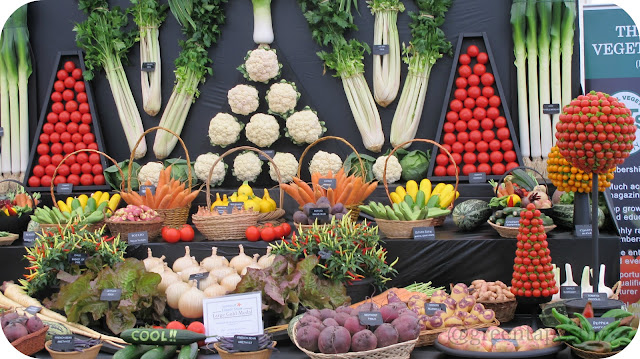 National Vegetable Society Stand at Southport Flower Show, 2013