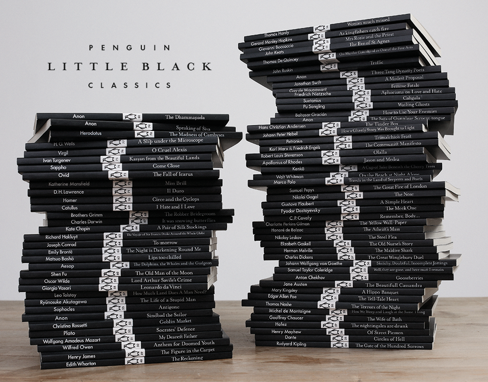 Introducing Little Black Classics 80 Books For Penguins 80th Birthday Celebrate The Huge Range And Diversity Of Penguin