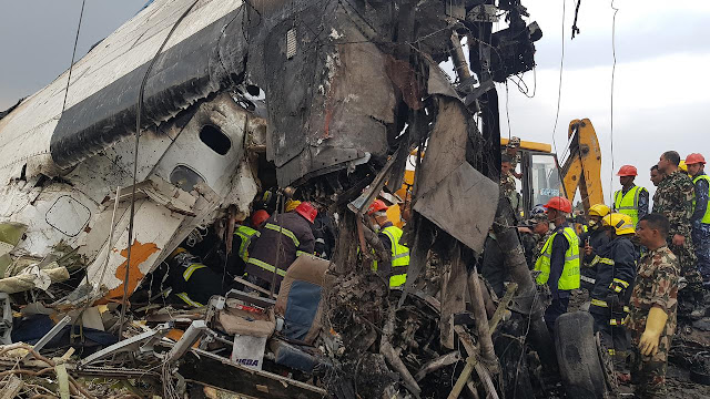 Pesawat Celaka di Landasan Bandara Kathmandu, 39 Orang Tewas