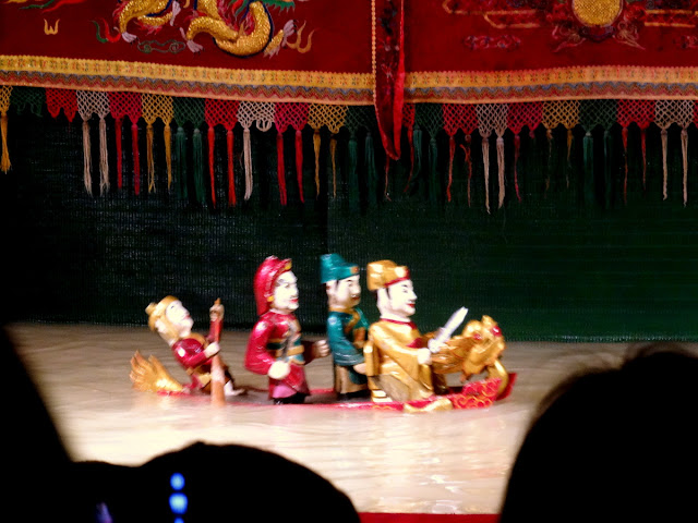 Water Puppet Show at the Golden Dragon Water Puppet Theatre in Ho Chi Minh City