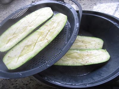 Calabacines a la boloñesa Thermomix