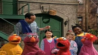 Elmo, Alan, the Honkers and Oscar the Grouch sing What Makes Music. Sesame Street Let's Make Music