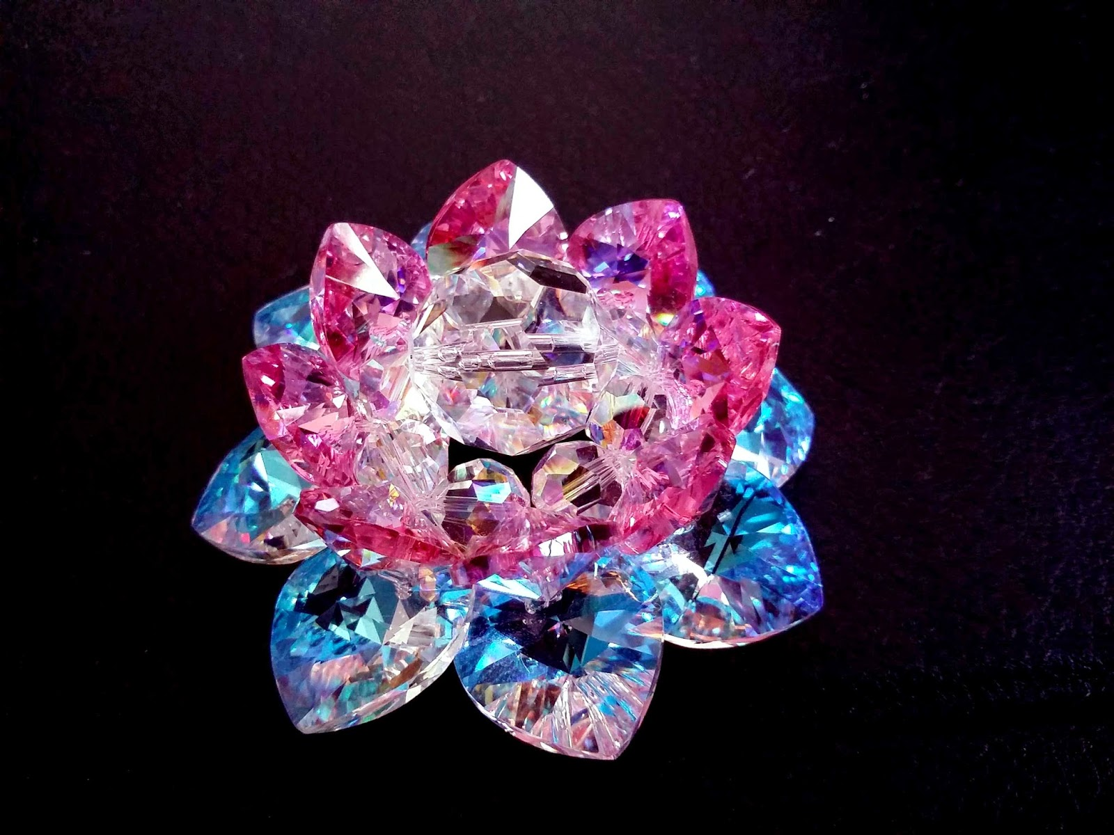 Sacred Crystal Lotus: Sacred Crystal Lotus Flower ...