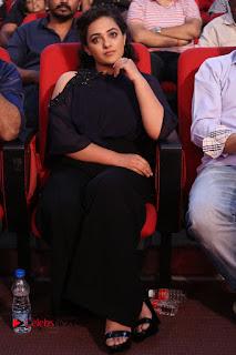 Nithya Menon Latest Stills at at Janatha Garage Movie Audio Launch  0151