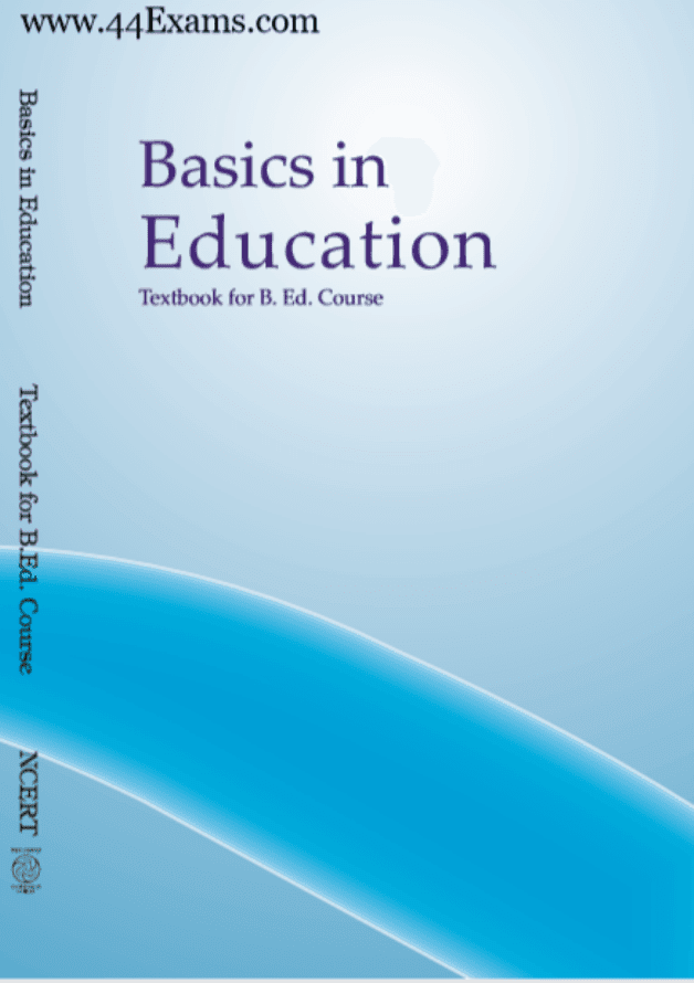 Basics-in-Education-Textbook-for-BED-Course-PDF-Book